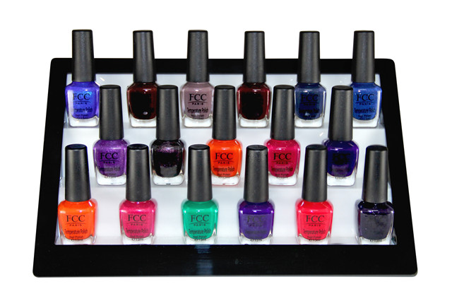 Temperature Color Change Nail Polish